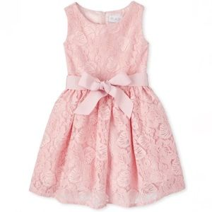 NWT • Children's Place Lace Fit and Flare Dress 6